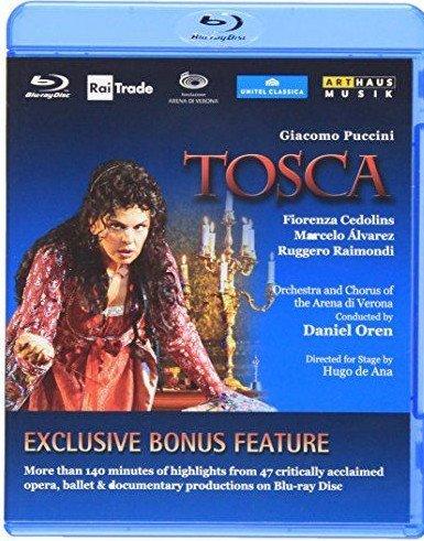 Fiorenza Cedolins - Tosca - Blu-Ray