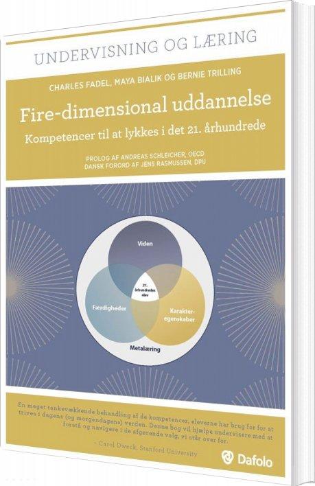 Image of   Fire-dimensional Uddannelse - Charles Fadel - Bog