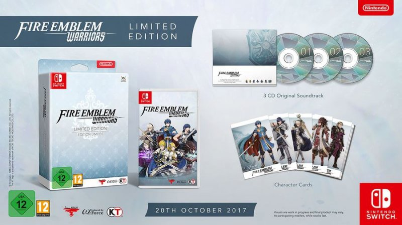 Image of   Fire Emblem Warriors - Limited Edition - Nintendo Switch