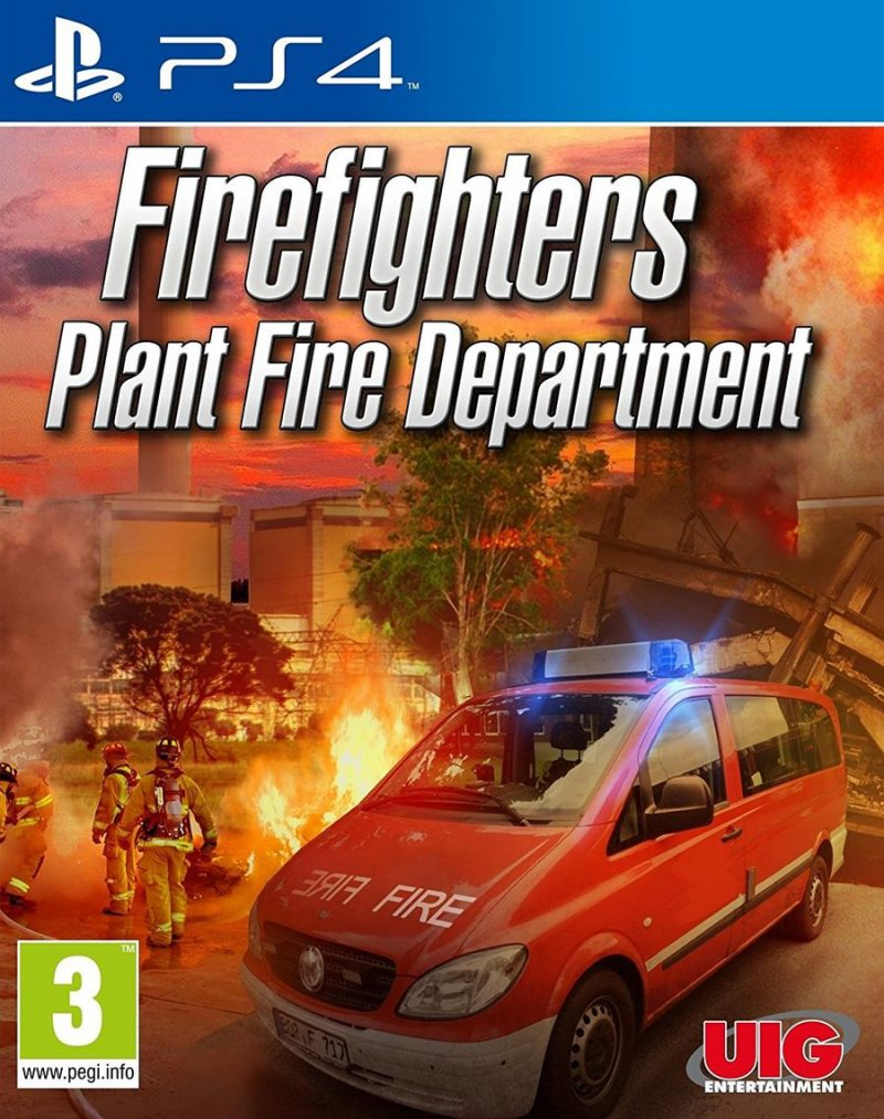 Firefighters Plant Fire Department - PS4