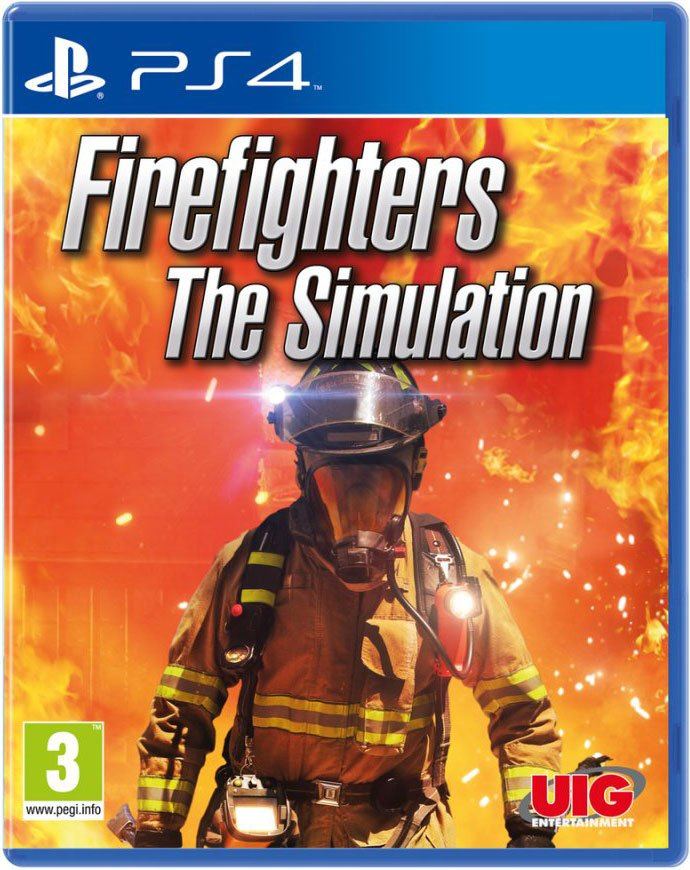 Firefighters - The Simulation - PS4
