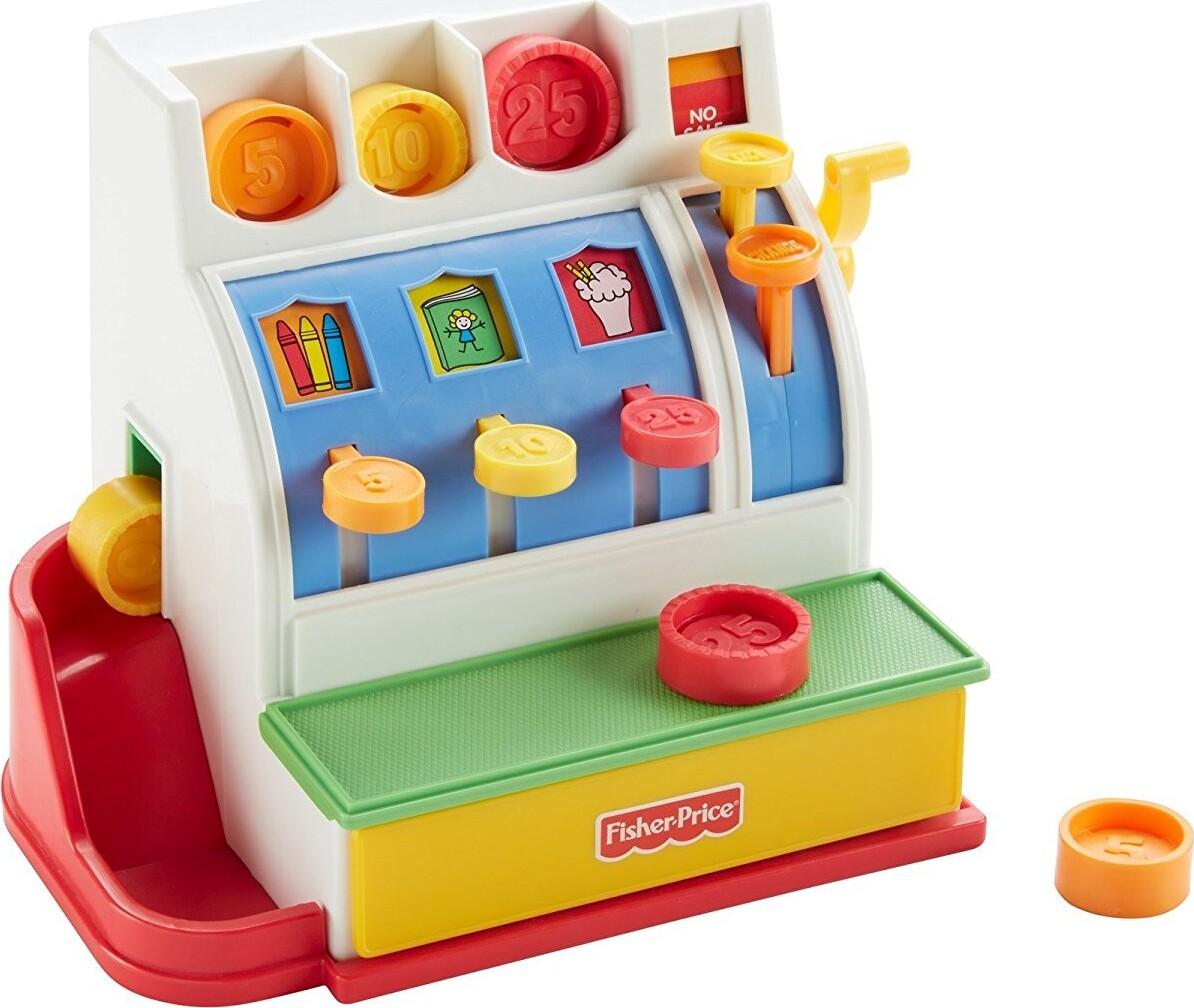 legetøjs kasseapparat
