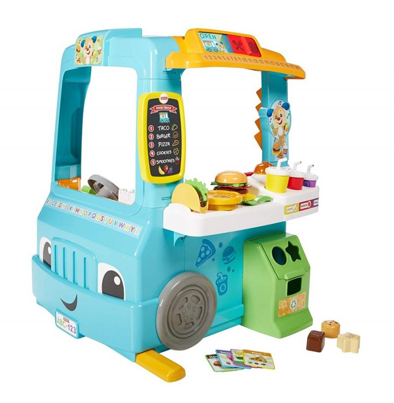 Image of   Fisher Price Legetøj - Food Truck - Laugh And Learn