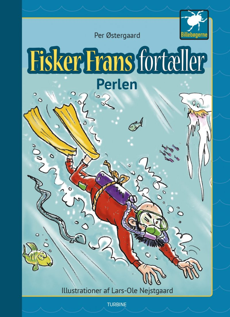 Fisker Frans Fortæller - Perlen - Per østergaard - Bog