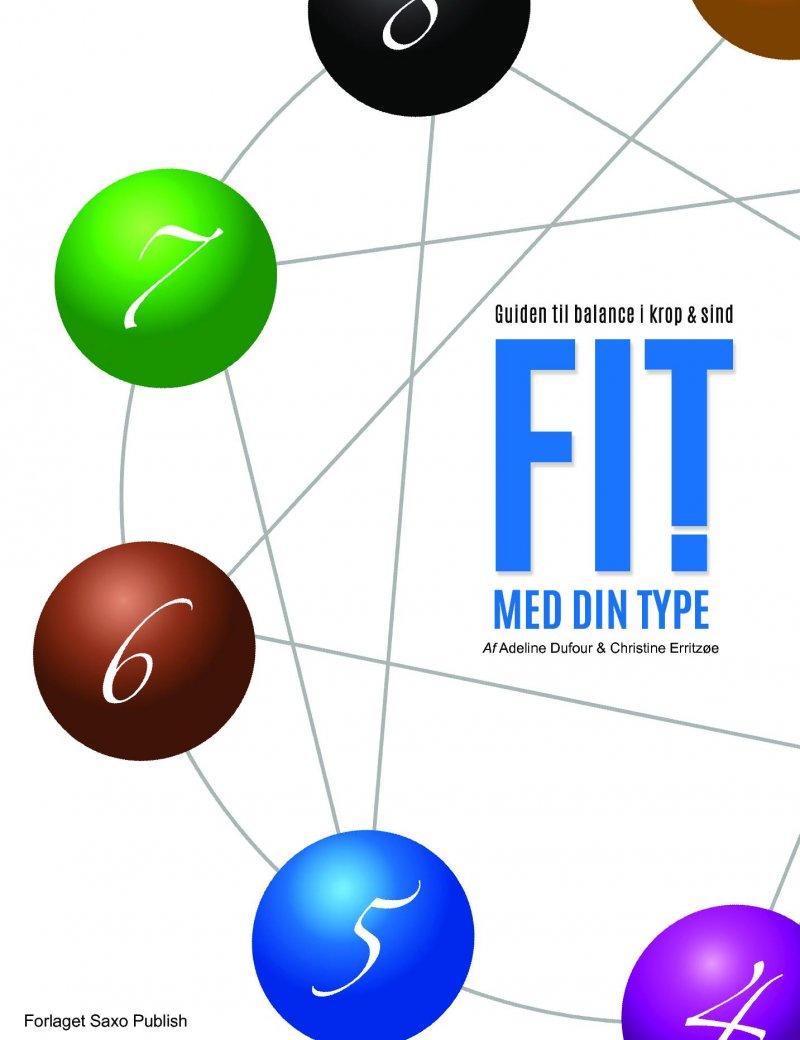 Image of   Fit Med Din Type ! - Guiden Til Balance I Krop Og Sind - Adeline I. M. Dufour - Bog