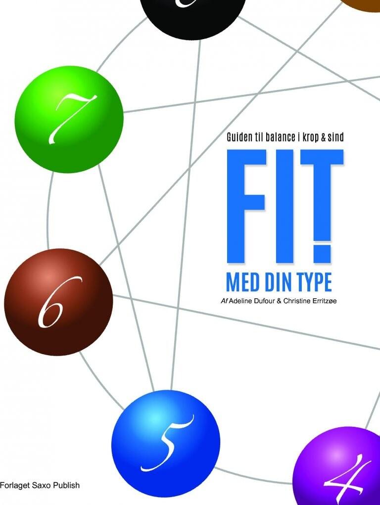 Image of   Fit Med Din Type ! - Guiden Til Balance I Krop & Sind - Adeline I. M. Dufour - Bog