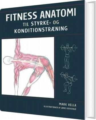 Image of   Fitness Anatomi Til Styrke- Og Konditionstræning - Mark Vella - Bog