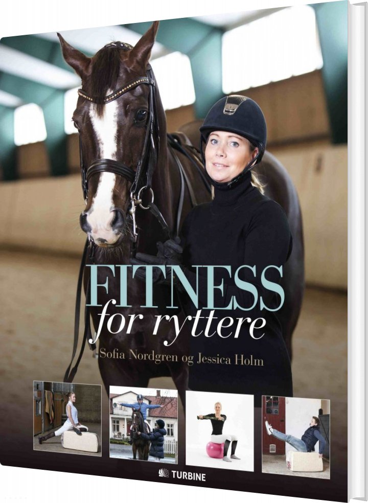 Image of   Fitness For Ryttere - Sofia Nordgren - Bog