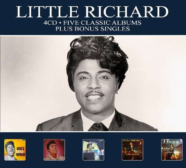Image of   Little Richard - Five Classic Albums - CD