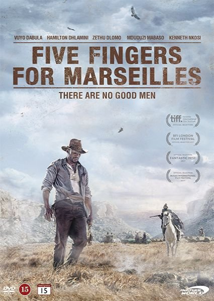 Five Fingers For Marseilles - DVD - Film