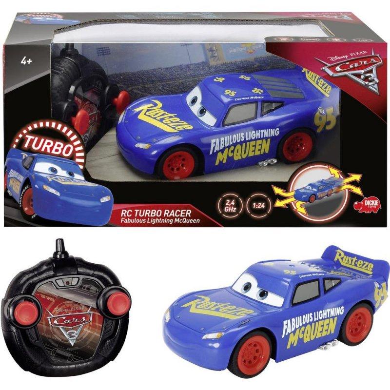 Fjernstyret Bil, Cars 3 Lynet Mcqueen Turbo, 17cm → Køb