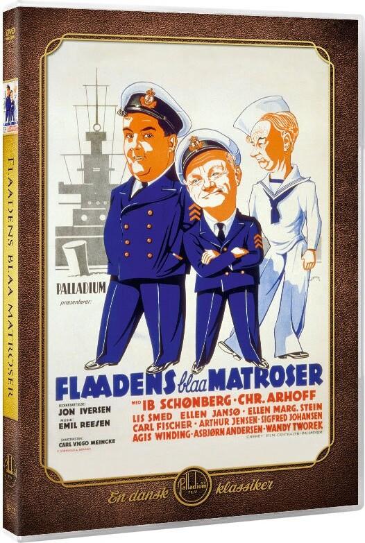 Image of   Flådens Blå Matroser - DVD - Film