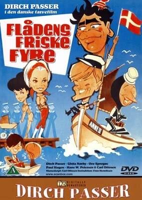Image of   Flådens Friske Fyre - DVD - Film