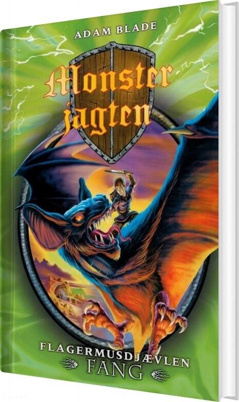 Image of   Monsterjagten 33 - Flagermusdjævlen Fang - Adam Blade - Bog