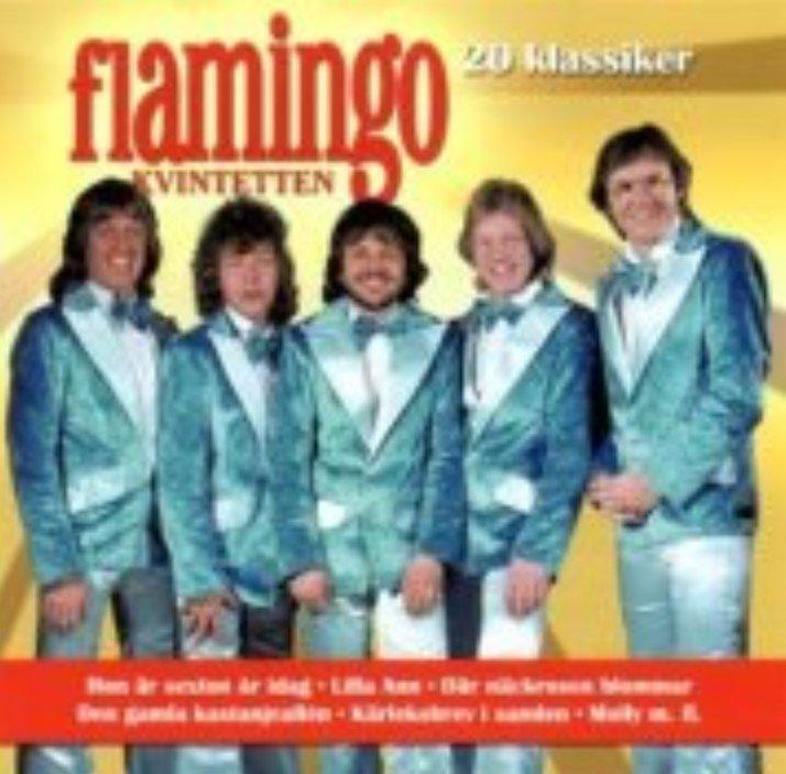 Image of   Flamingokvintetten - 20 Klassiker - CD