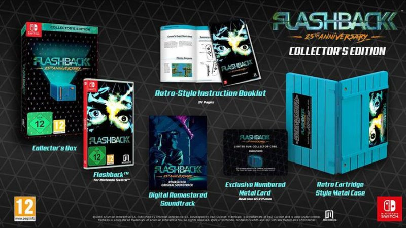 Flashback 25th Anniversary Collectors Edition - Nintendo Switch