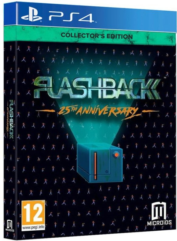 Image of   Flashback - 25th Anniversary - Collector`s Edition - PS4