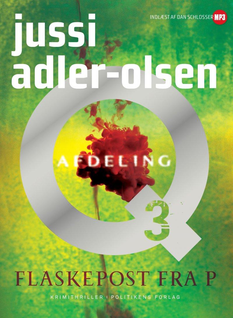 Image of   Flaskepost Fra P - Jussi Adler-olsen - Cd Lydbog
