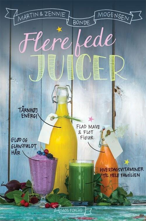 Image of   Flere Fede Juicer - Martin - Bog