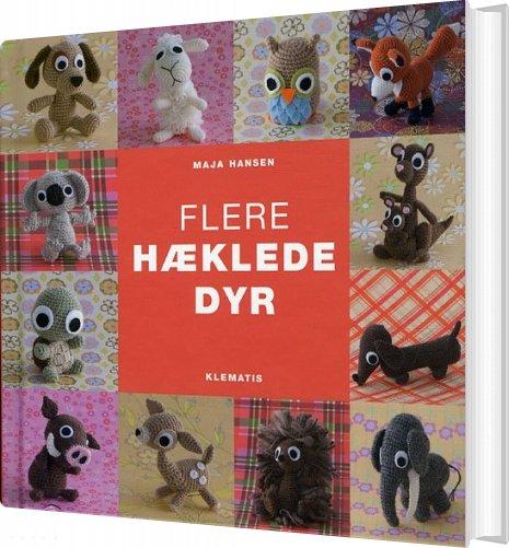 Image of   Flere Hæklede Dyr - Maja Hansen - Bog