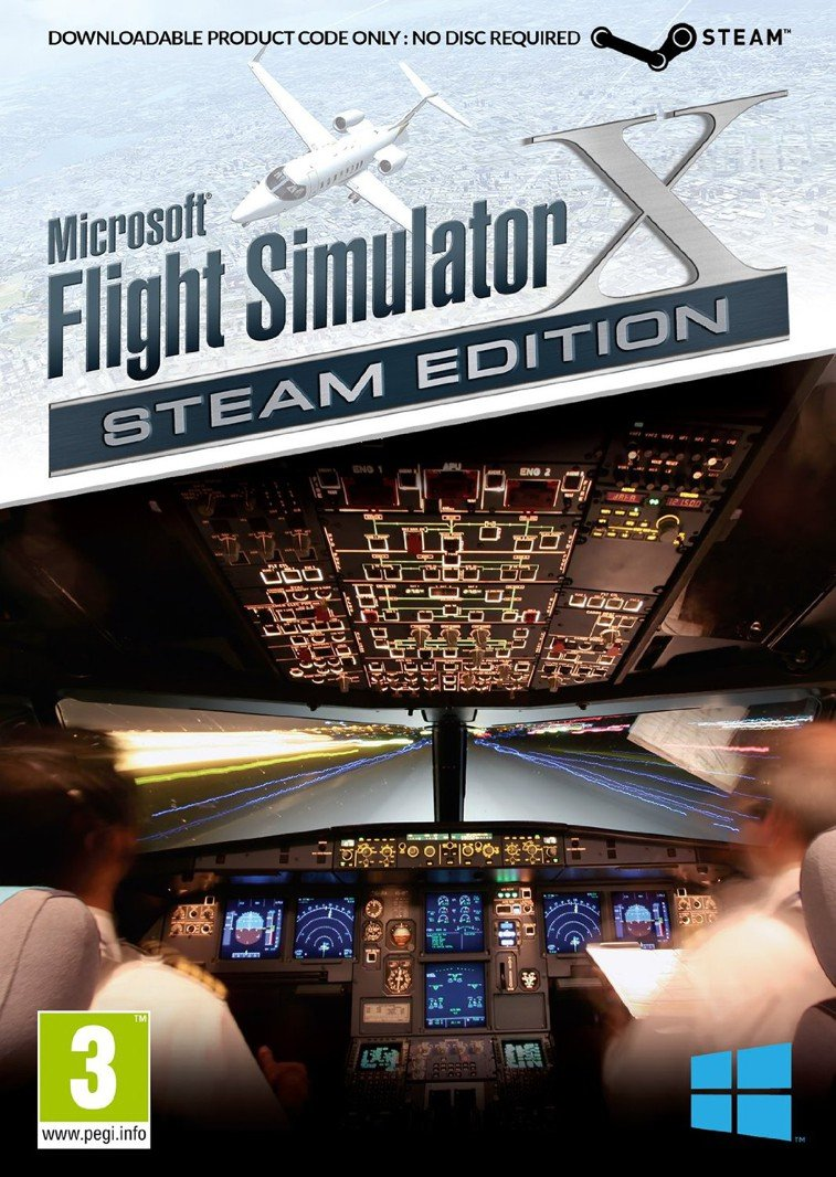 Image of   Flight Simulator X - Boxed Steam Edition - PC