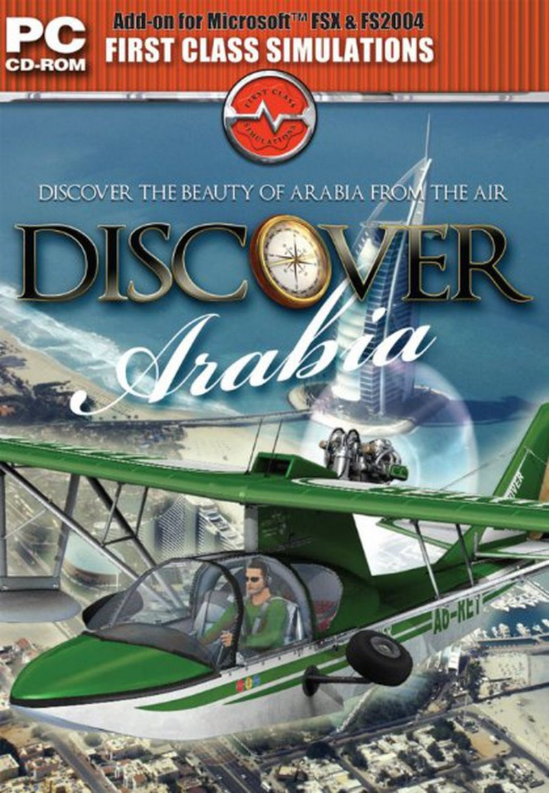 Image of   Flight Simulator X - Discover Arabia - Udvidelse - PC