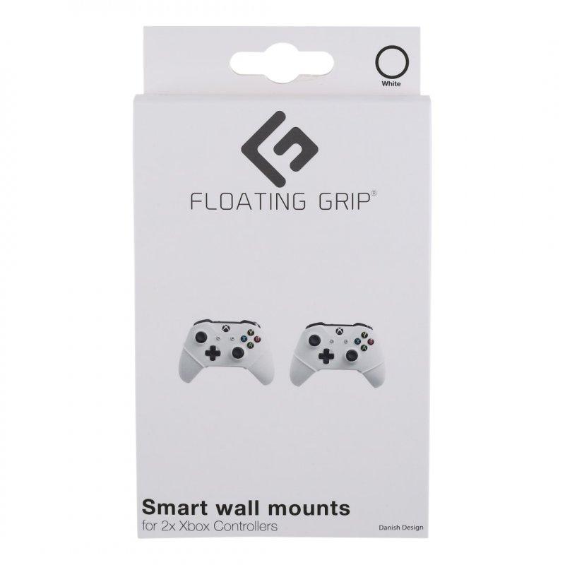Image of   Floating Grip - Xbox Controller Vægbeslag 2 Stk - Hvid