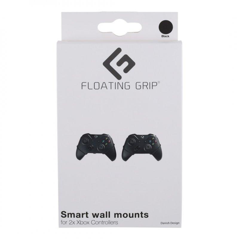 Image of   Floating Grip - Xbox Controller Vægbeslag 2 Stk - Sort