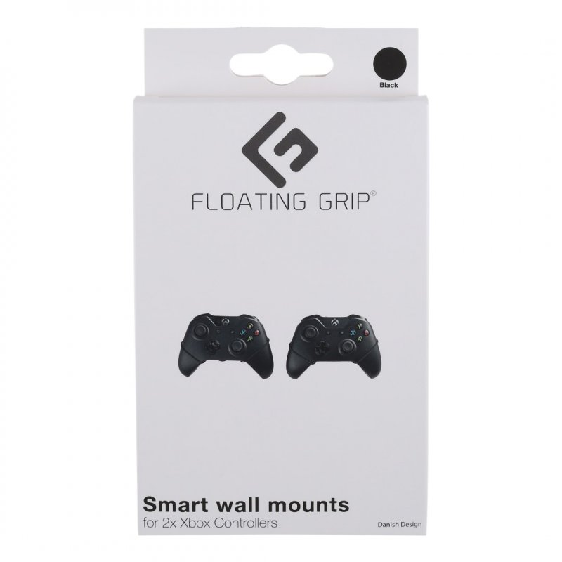 Image of   Floating Grip - Xbox Controller Vægbeslag 2 Stk - Sort