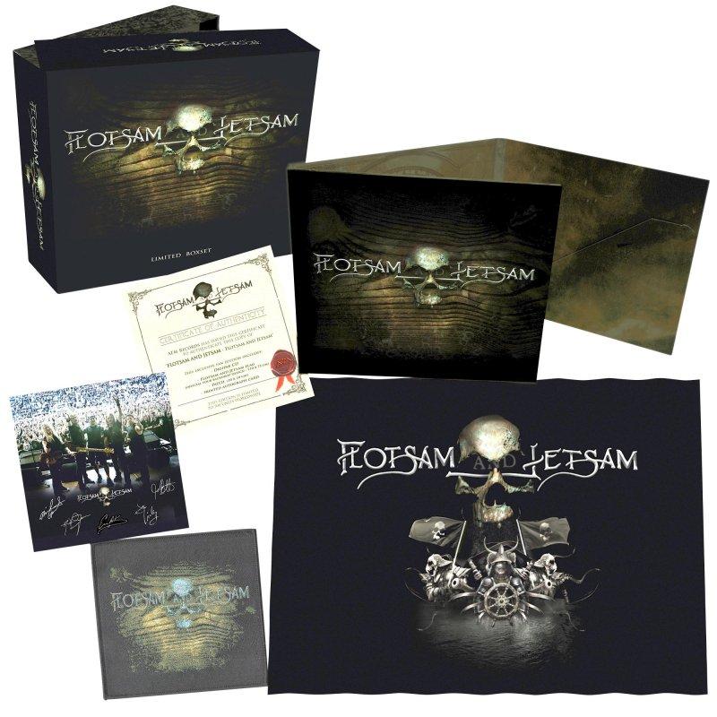Image of   Flotsam And Jetsam - Flotsam And Jetsam (box) - CD