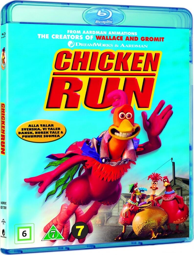 Image of   Flugten Fra Hønsegården / Chicken Run - Blu-Ray