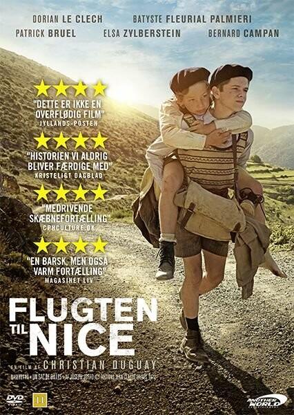 Flugten Til Nice - DVD - Film