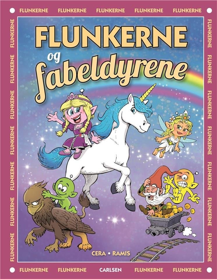Image of   Flunkerne Og Fabeldyrene - Juan Carlos Ramis - Bog