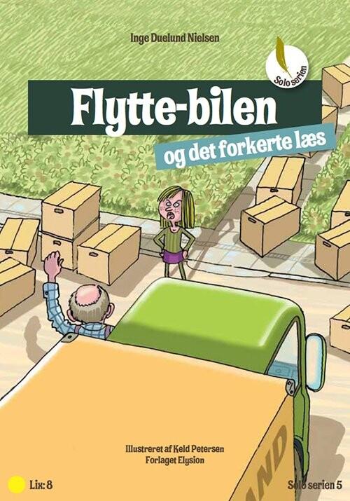 Flyttebilen - Inge Duelund Nielsen - Bog