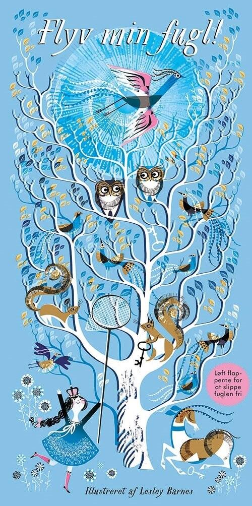 Flyv Min Fugl! - Lesley Barnes - Bog