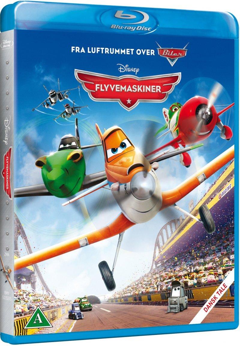 Billede af Disney Flyvemaskiner / Planes - Blu-Ray