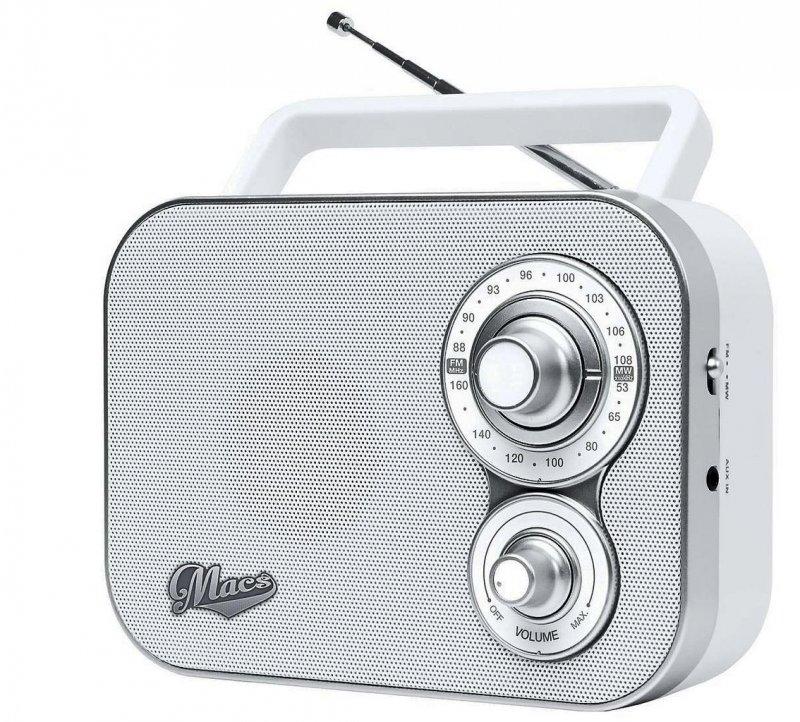 Fm Radio - Hvid