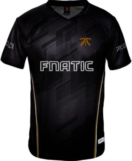 Image of   Fnatic Player Jersey / Esport Trøjer 2018 - 2xl