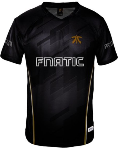 Image of   Fnatic Player Jersey / Esport Trøjer 2018 - 3xl
