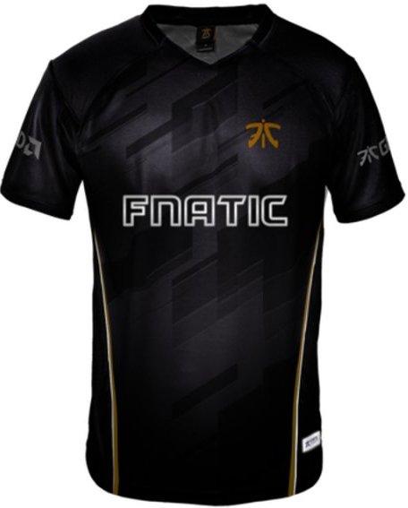 Image of   Fnatic Player Jersey / Esport Trøjer 2018 - 4xl