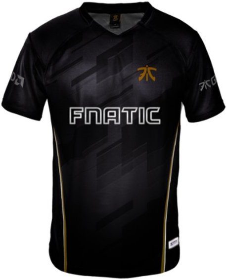 Image of   Fnatic Player Jersey / Esport Trøjer 2018 - S