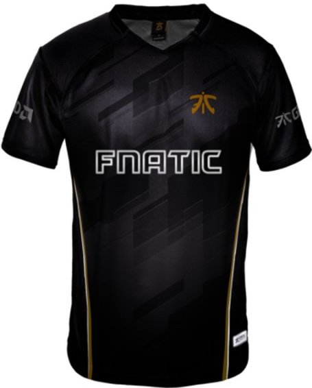 Image of   Fnatic Player Jersey / Esport Trøjer 2018 - Xs