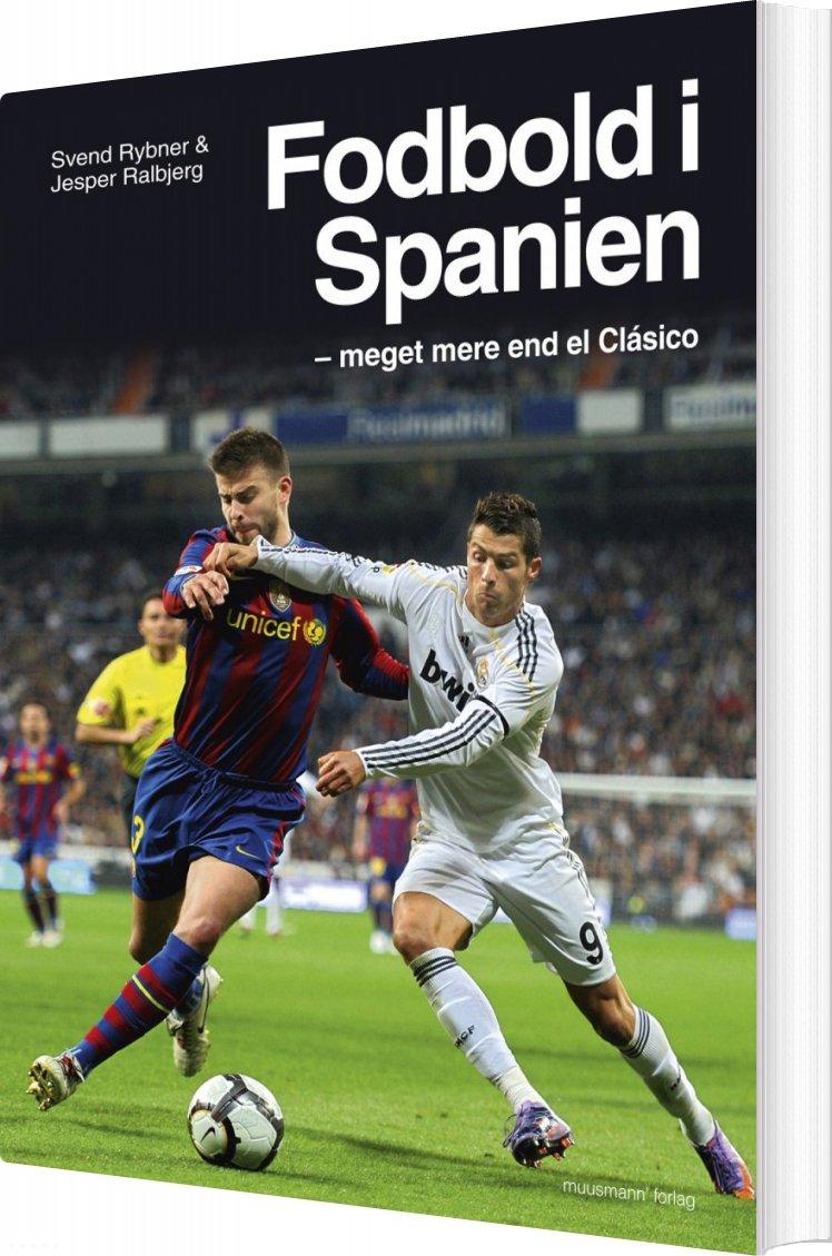 Image of   Fodbold I Spanien - Svend Rybner - Bog