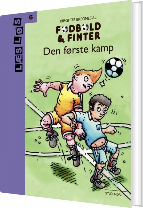 Billede af Fodbold Og Finter. Den Første Kamp - Birgitte Bregnedal - Bog