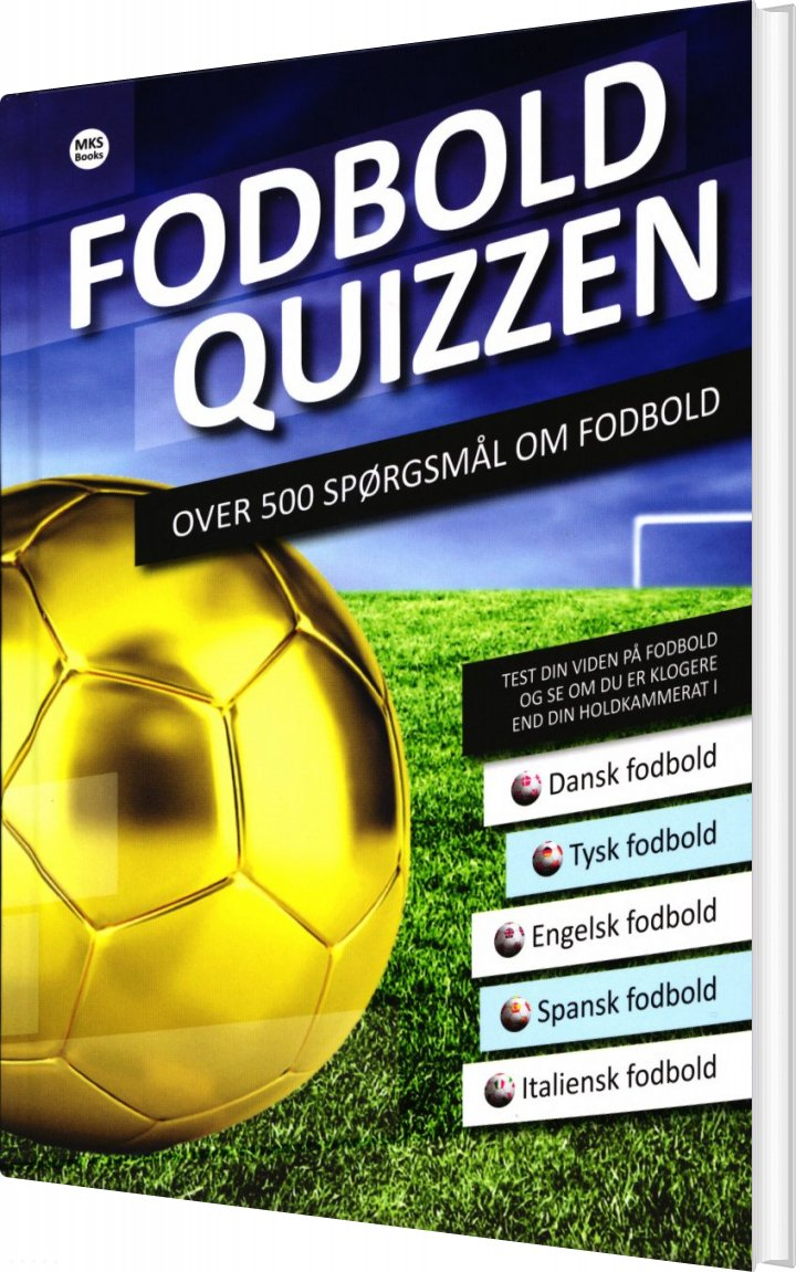Image of   Fodbold Quizzen - Mie Kruse Skaaning - Bog
