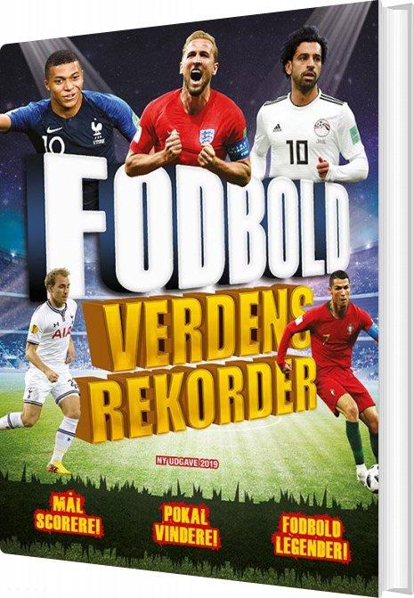 Image of   Fodbold Verdensrekorder 2019-2020 - Clive Gifford - Bog