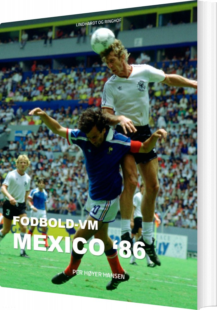 Image of   Fodbold-vm Mexico 86 - Per Høyer Hansen - Bog