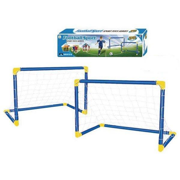 Fodboldmål Sæt Til Haven - Plastik - Udendørs - 2 Stk