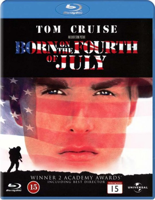 Image of   Born On The Fourth Of July / Født Den 4. Juli - Blu-Ray