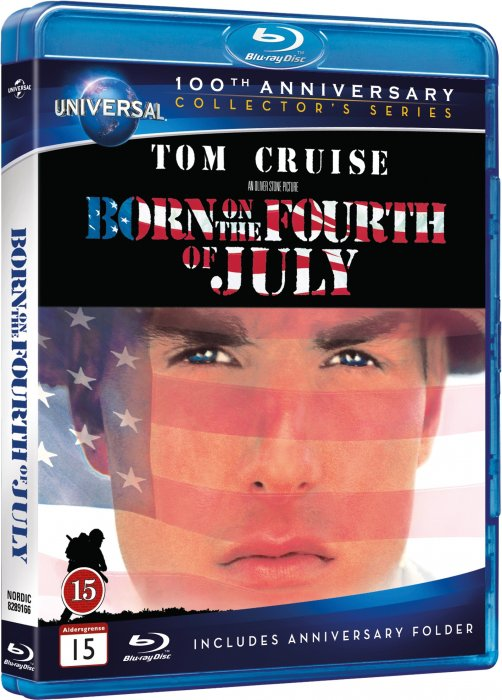 Image of   Born On The Fourth Of July / Født Den 4. Juli - 100th Anniversary Edition - Blu-Ray